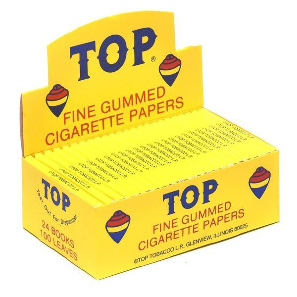 Top Rolling Papers �C Single Wide Fine Gummed Cigarette Papers 24BOOKS �C Vaporizer, E Liquid, Smoke Products Wholesale